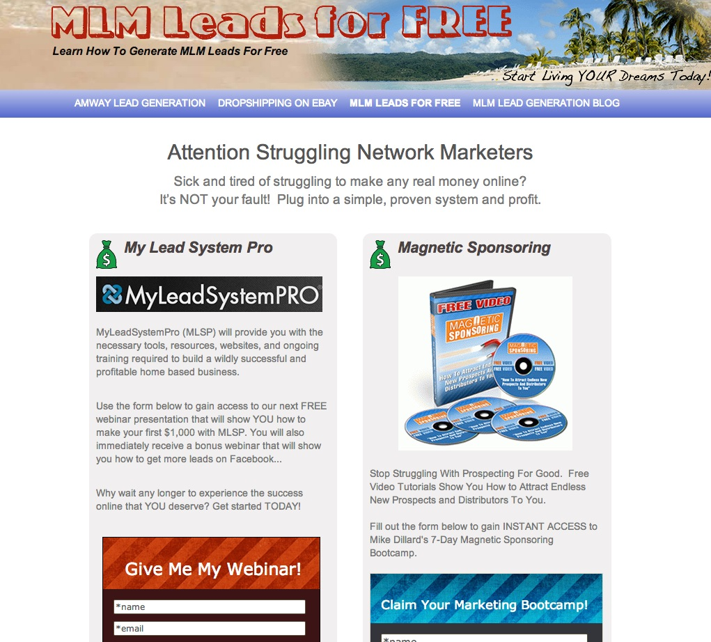 MLM Leads For Free