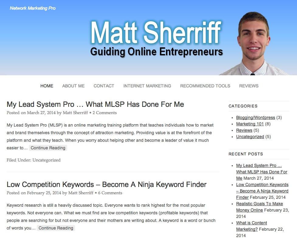 Matt Sherriff Inc.